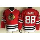 Youth Chicago Blackhawks #88 Patrick Kane Red Throwback Jersey