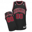 Youth Chicago Bulls Customized Black Swingman Adidas Jersey