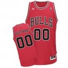 Youth Chicago Bulls Customized Red Swingman Adidas Jersey