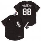Youth Chicago White Sox #88 Luis Robert Black 2020 Cool Base Jersey