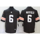 Youth Cleveland Browns #6 Baker Mayfield Limited Brown 2020 Vapor Untouchable Jersey