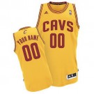 Youth Cleveland Cavaliers Customized Yellow Swingman Adidas Jersey