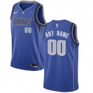 Youth Dallas Mavericks Customized Blue Icon Swingman Nike Jersey