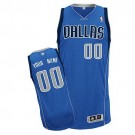 Youth Dallas Mavericks Customized Blue Swingman Adidas Jersey
