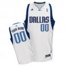 Youth Dallas Mavericks Customized White Swingman Adidas Jersey