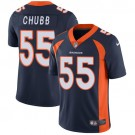Youth Denver Broncos #55 Bradley Chubb Limited Navy Vapor Untouchable Jersey