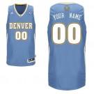 Youth Denver Nuggets Customized Light Blue Swingman Adidas Jersey