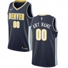Youth Denver Nuggets Customized Navy Icon Swingman Nike Jersey