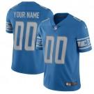 Youth Detroit Lions Customized Limited Blue Vapor Untouchable Jersey