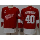 Youth Detroit Red Wings #40 Henrik Zetterberg Red Jersey