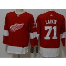 Youth Detroit Red Wings #71 Dylan Larkin Red Jersey
