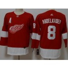 Youth Detroit Red Wings #8 Justin Abdelkader Red Jersey