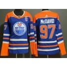 Youth Edmonton Oilers #97 Connor McDavid Blue Alternate Jersey