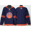 Youth Edmonton Oilers Blank Navy 50th Anniversary Authentic Jersey
