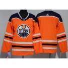 Youth Edmonton Oilers Blank Orange Jersey