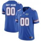 Youth Florida Gators Customized Blue College Football Jersey