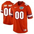 Youth Florida Gators Customized Orange 2017 College Football Jersey