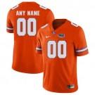Youth Florida Gators Customized Orange College Football Jersey
