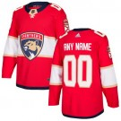 Youth Florida Panthers Customized Red Authentic Jersey