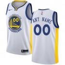Youth Golden State Warriors Customized White Icon Swingman Nike Jersey