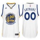 Youth Golden State Warriors Customized White Swingman Adidas Jersey