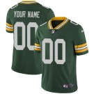 Youth Green Bay Packers Customized Limited Green Vapor Untouchable Jersey