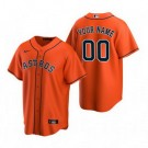 Youth Houston Astros Customized Orange Alternate 2020 Cool Base Jersey