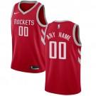 Youth Houston Rockets Customized Red Icon Swingman Nike Jersey