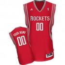 Youth Houston Rockets Customized Red Swingman Adidas Jersey