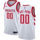 Youth Houston Rockets Customized White Icon Swingman Nike Jersey