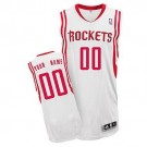 Youth Houston Rockets Customized White Swingman Adidas Jersey