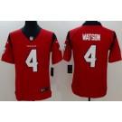Youth Houston Texans #4 Deshaun Watson Limited Red Vapor Untouchable Jersey