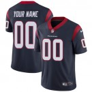 Youth Houston Texans Customized Limited Navy Vapor Untouchable Jersey