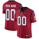 Youth Houston Texans Customized Limited Red Vapor Untouchable Jersey