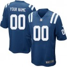 Youth Indianapolis Colts Customized Game Blue Jersey