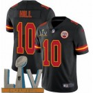 Youth Kansas City Chiefs #10 Tyreek Hill Limited Black 2021 Super Bowl LV Bound Vapor Untouchable Jersey
