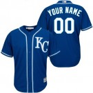 Youth Kansas City Royals Customized Roayl Blue Cool Base Jersey