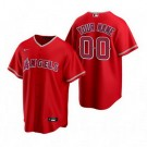 Youth Los Angeles Angels Customized Red Alternate 2020 Cool Base Jersey
