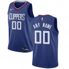 Youth Los Angeles Clippers Customized Blue Icon Swingman Nike Jersey