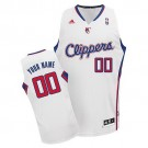 Youth Los Angeles Clippers Customized White Swingman Adidas Jersey