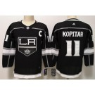 Youth Los Angeles Kings #11 Anze Kopitar Black Jersey