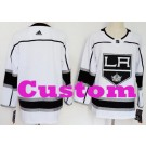 Youth Los Angeles Kings Customized White Authentic Jersey