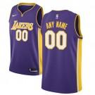 Youth Los Angeles Lakers Customized Purple Icon Swingman Nike Jersey
