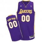 Youth Los Angeles Lakers Customized Purple Swingman Adidas Jersey