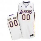 Youth Los Angeles Lakers Customized White Swingman Adidas Jersey