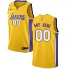Youth Los Angeles Lakers Customized Yellow Icon Swingman Nike Jersey