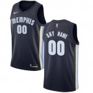 Youth Memphis Grizzlies Customized Navy Icon Swingman Nike Jersey
