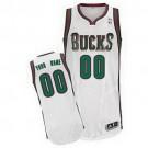 Youth Milwaukee Bucks Customized White Swingman Adidas Jersey