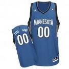 Youth Minnesota Timberwolves Customized Blue Swingman Adidas Jersey