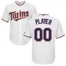 Youth Minnesota Twins Customized White Cool Base Jersey